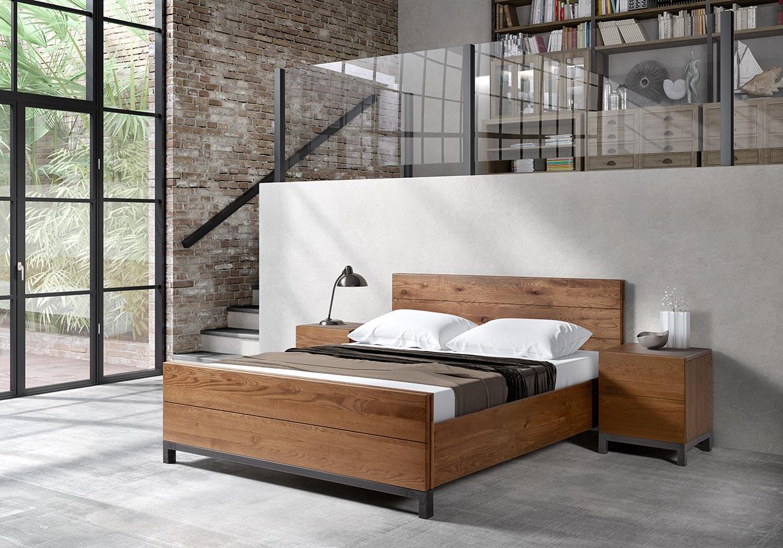 Slaapkamer Met Hout : Meubelen van houdt: producent van slaapkamers